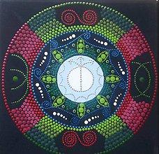 Obrázky - Mandala 20x20cm (Partnerská mandala (predaná)) - 11246040_