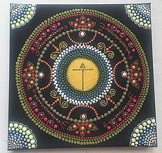 Obrázky - Mandala 20x20cm (Partnerská mandala (predaná)) - 11246050_