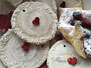 Dekorácie - Vianočné koláčiky od babičky....12 kusov - 11243418_