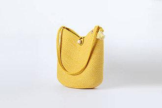 Kabelky - Kabelka žlutá - 11244940_