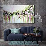 Obrazy - Kvety v dúhe II - 11246146_