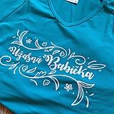 Tričká - Úžasná babička - dámske tričko - 11245821_