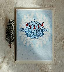 Papiernictvo - Vianočná pohľadnica - 11245267_