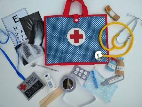 Hračky - Lekársky kufrík v plnej výbave - zachráň svet! - 11246117_