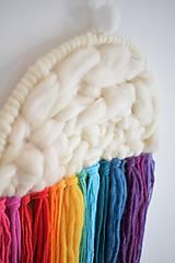 Dekorácie - -Závesná dekorácia/dúha/obláčik/kvapky- - 11245505_