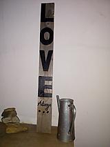 Dekorácie - drevena tabulka - 11246070_
