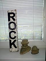 Dekorácie - drevena tabulka - 11246127_