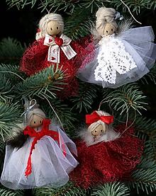 Dekorácie - figúrky na stromček - 11244146_