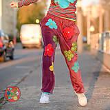 Nohavice - Origo teplakošky kvety - 11244669_