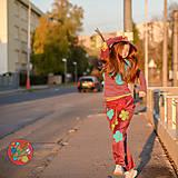 Nohavice - Origo teplakošky kvety - 11244670_