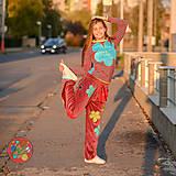 Nohavice - Origo teplakošky kvety - 11244671_