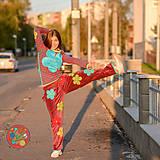 Nohavice - Origo teplakošky kvety - 11244678_