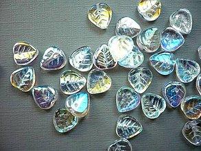 Minerály - Lístečky 9 x 9 mm - 20 ks, K146 - 11243127_