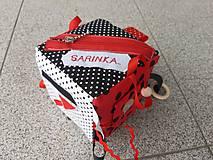 Hračky - Susugo Montessori kocka s menom. - 11245310_