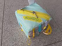 Hračky - Susugo Montessori kocka s menom. - 11245360_