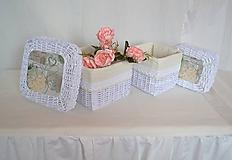 Košíky - Krabičky s poklopom MIRINA / sada - 11243993_