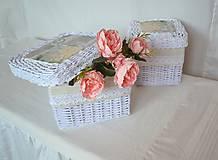 Košíky - Krabičky s poklopom MIRINA / sada - 11244006_