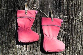 Topánočky - Topánočky s merino vlnou / softshell - BROSKYŇA - 11249915_
