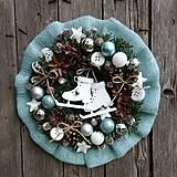 - Ľadový vianočný venček  - 11247909_
