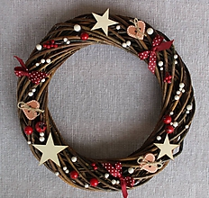 Dekorácie - Veniec vianočný - 11248350_