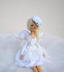 Bábiky - Vianočný anjelik II - 11248971_