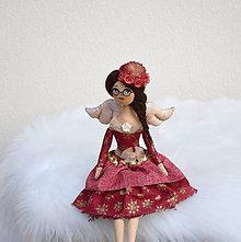 Bábiky - Vianočný anjelik III - 11249007_