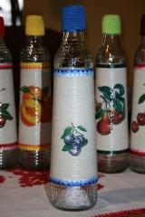 Nádoby - Fľaše na pálenku II.  (Slivovica) - 11248937_