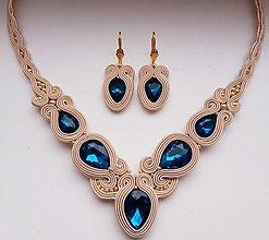 Sady šperkov - Soutache set Victoria - 11248739_