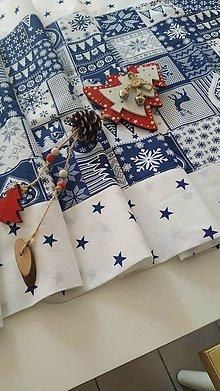 Úžitkový textil - Vianočný stredový obrus - 11250095_