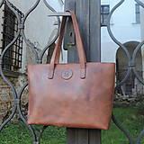 Veľké tašky - Kožená taška No.2 - 11246832_