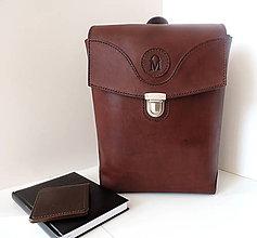 Batohy - Kožený batoh Joy - 11246922_