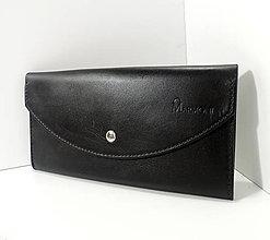 Kabelky - Listová kabelka Lady Black - 11247815_