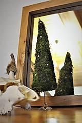 """Dekorácie - vianočný stromček """"machový"""" - 11246682_"""