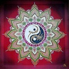 Obrazy - Mandala...Tvorivý vzťah lásky - 11250018_