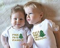 Detské oblečenie - vianočné tričká - 11249711_