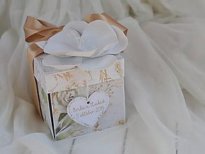 Papiernictvo - Svadobný exploding box - 11247389_