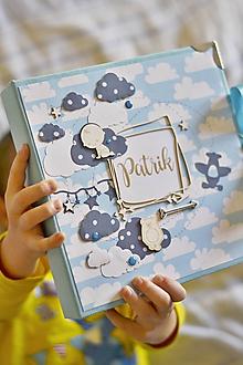 Papiernictvo - Detský vkladací fotoalbum - 11247774_