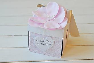 Papiernictvo - Svadobný exploding box - 11247937_