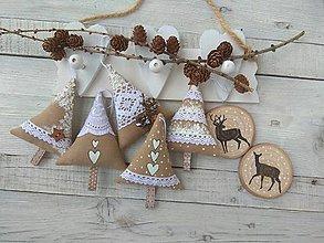 Dekorácie - Vianočné stromčeky - 11248348_
