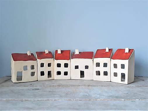 domčeky - svietničky