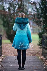 Kabáty - kabátik - Happy Turquoise Blue - 11247135_
