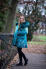 Kabáty - kabátik - Happy Turquoise Blue - 11247136_