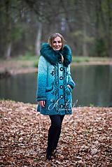 Kabáty - kabátik - Happy Turquoise Blue - 11247189_