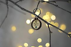 Kľúčenky - Kľúčenka PRE ŠTASTIE - 11247948_