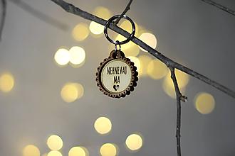 Kľúčenky - Kľúčenka NEHNEVAJ MA - 11247910_
