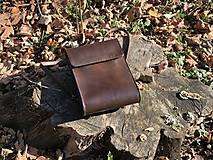 Batohy - Kožený ruksak NO.37 - 11246290_