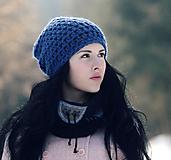 Čiapky - Čepka tmavě modrá - 11248200_