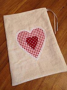Úžitkový textil - Veľké vrecko na chlieb - 11246841_