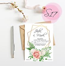 Papiernictvo - Svadobné oznámenie 17 - 11249525_
