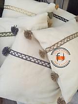 Úžitkový textil - Vankúše zo 100% vlny - 11246959_